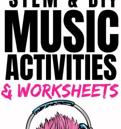 43 Music Activities for Kids: Sound STEM Projects {FREE Worksheets} -  Parent Vault: Educational Resources [ 1550 x 700 Pixel ]