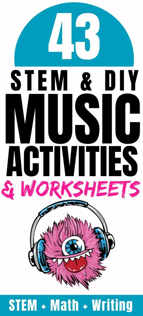 small resolution of 43 Music Activities for Kids: Sound STEM Projects {FREE Worksheets} -  Parent Vault: Educational Resources