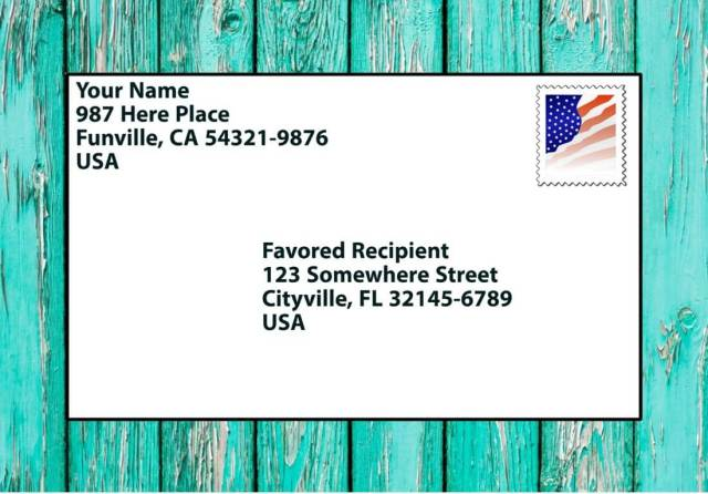 How to Write a Letter & Address (Properly!) - Parent Vault