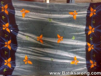 Embroidery sarongs bali Indonesia