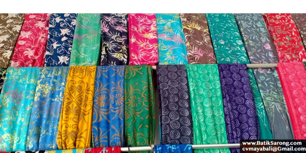 2.2 yards Indonesian Hand Stamped Batik Fabric for Dress Making Wall Tapestry Traditional Wrap Bed Runner Blanket Scarf Ethnic Sarong