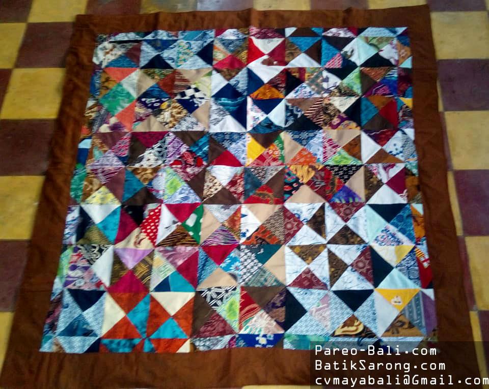 Batik Patchwork Blankets Table Clothes Batik Patchwork Handbags Pareo Bali Com