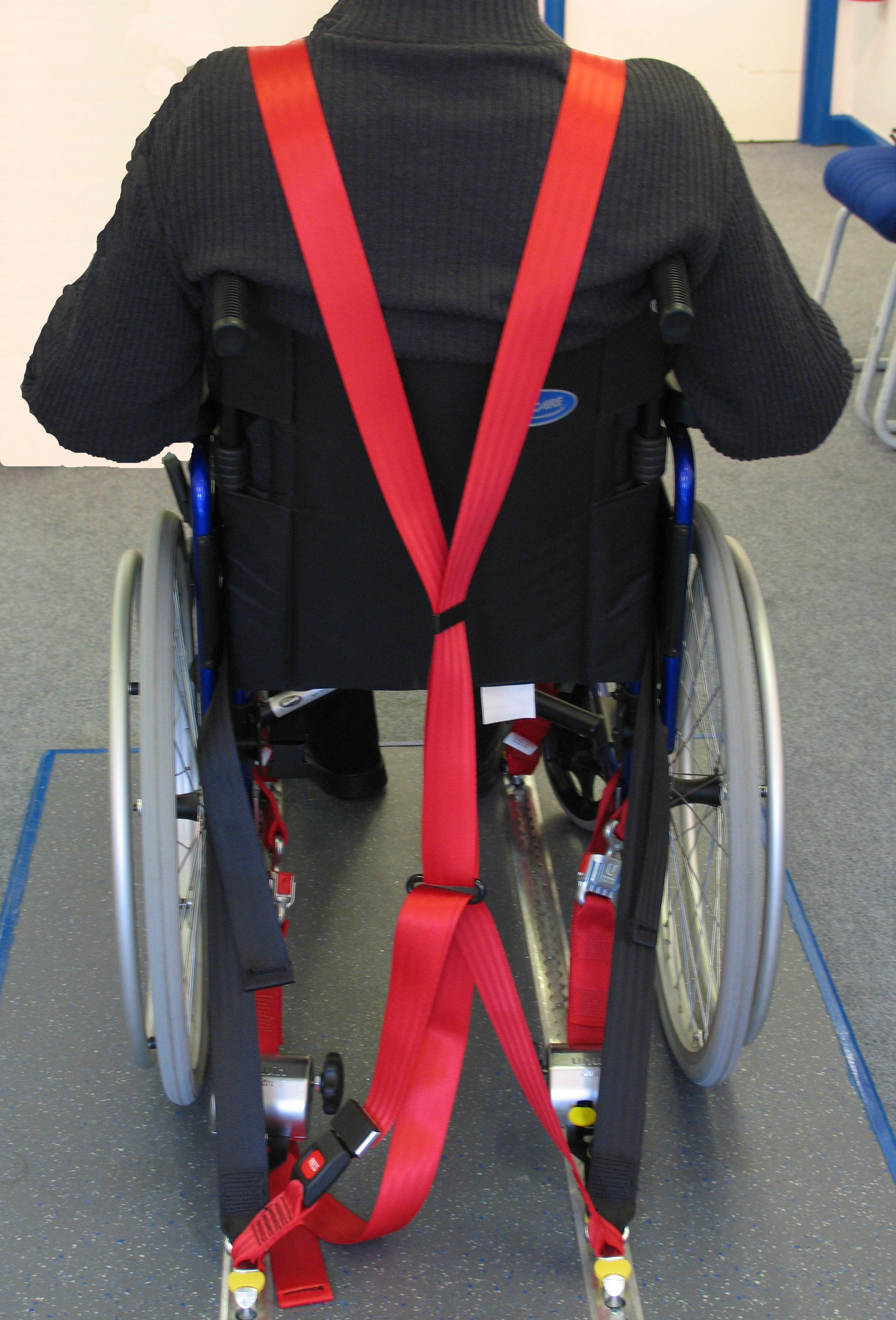 wheelchair harness big lots rocking chair cushions parfit mobility experts for cars in ireland ccessi
