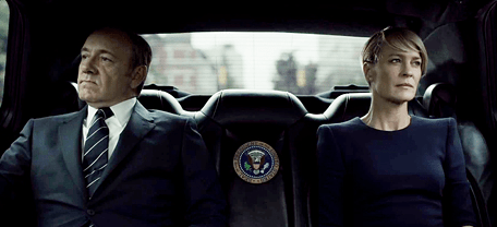 Claire and Francis Underwood