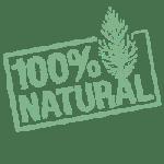 icône 100% naturel