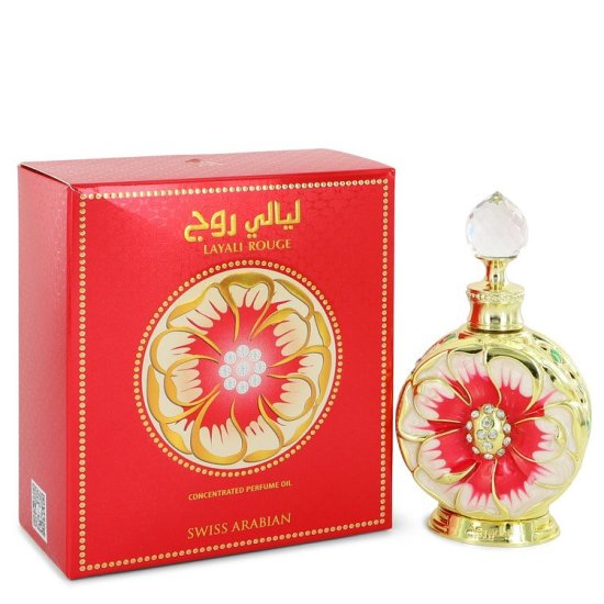 Layali Rouge 15ml Oil Huile Swiss Arabian