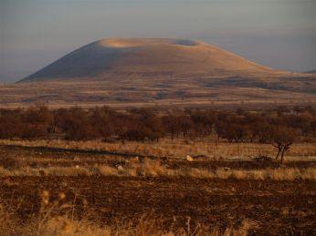 Zhola anonymní sametový kráter u města ACIGÖL