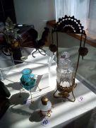 czech historic toilette and perfumery glass