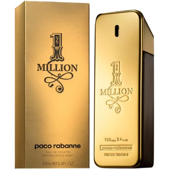 1 million paco rabanne 100 ml parfum