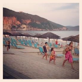 September afternoon in Lichnos beach