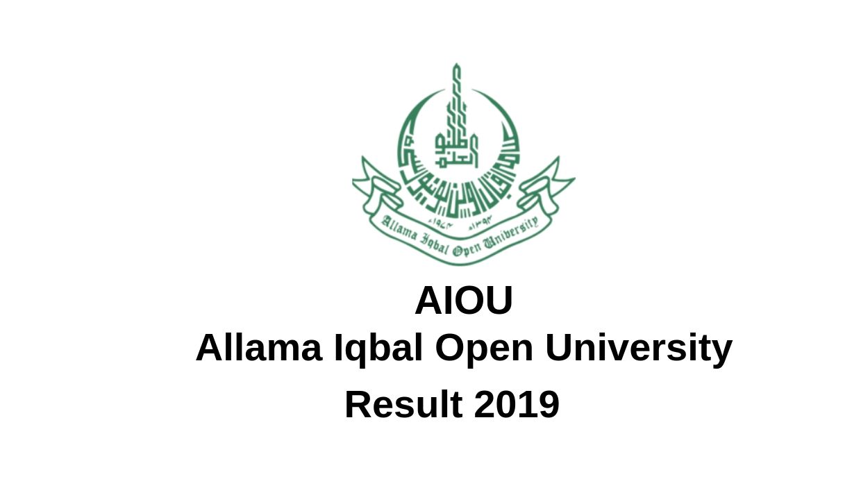 AIOU Result 2019 Allama Iqbal Open University Result