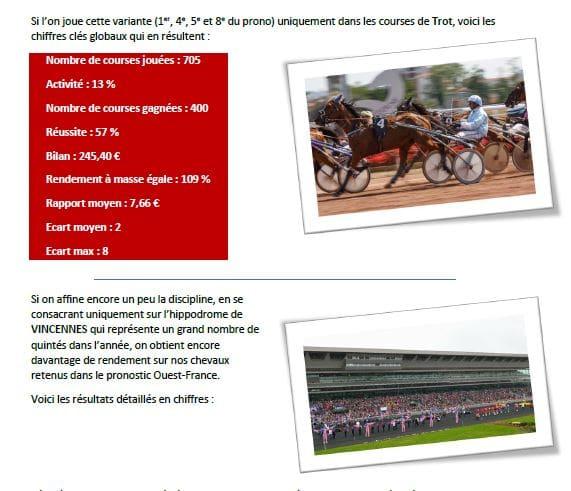 Pages intérieures du livre secrets de joueurs et top des sélections gagnantes - pari-gagnant.com
