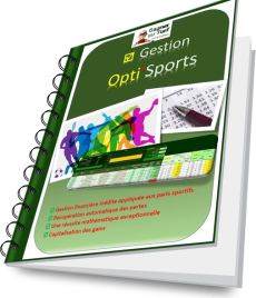 Manuel de la gestioin financière dédiée aux paris sportifs Opti'Sports - Pari-Gagnant.com