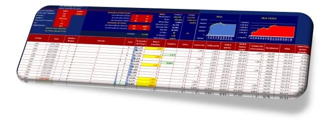 Interface Excel gestion JP betting System - Pari-Gagnant.com