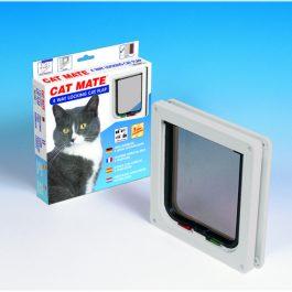Cat mate kattenluikje vestelbaar 4 weg