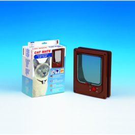 Cat mate kattenluikje elektromagnetische kattendeur met 4 weg sluiting