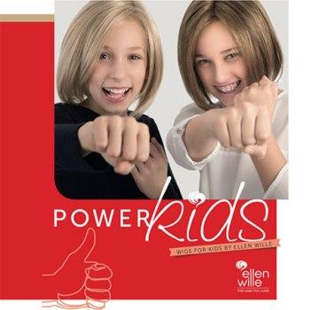 Коллекция детских париков Power Kids