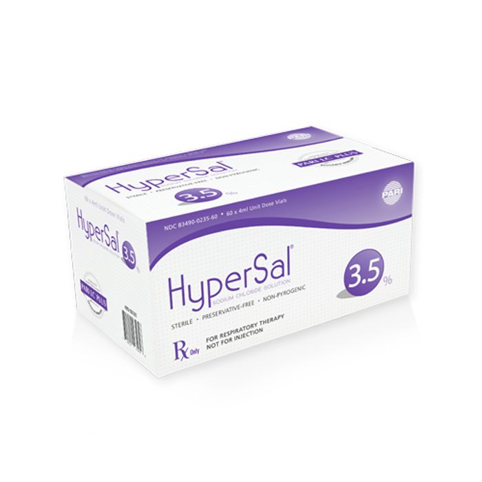 HyperSal® 3.5% with PARI LC® Plus Reusable Nebulizer Case ...
