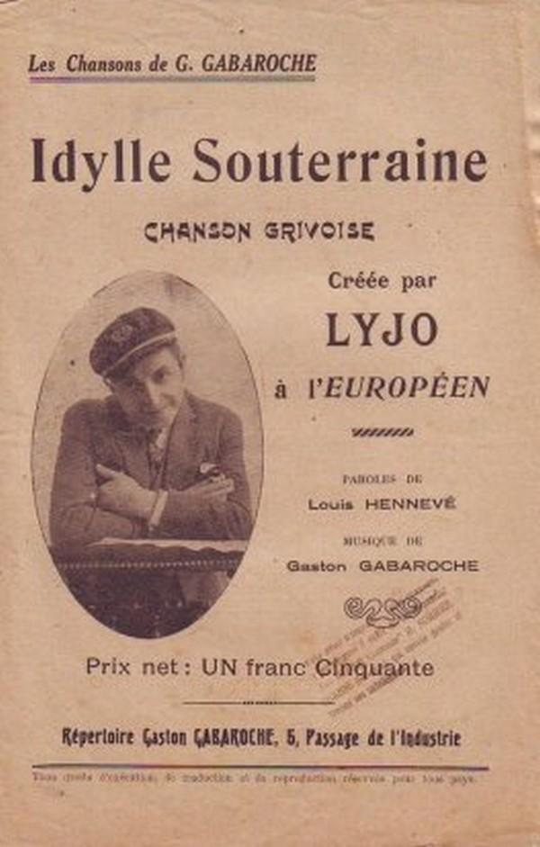 La Jeune Fille Du Metro : jeune, fille, metro, Chanson, Grivoise, Idylle, Souterraine, Jeune, Fille, Métro, PARIS