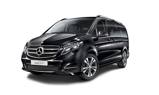 Luxury Minivan Paris- V Class Mercedes
