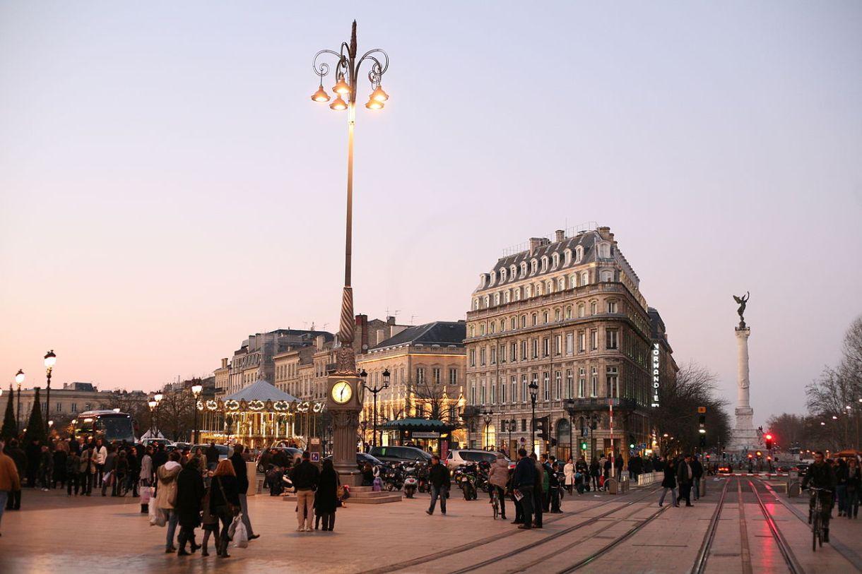 nouveau départ à Bordeaux