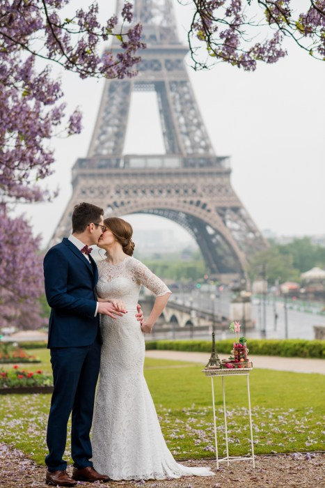just married in paris