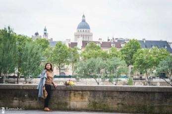 Сите и Нотр Дам. Фотосессия в Париже