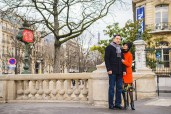 photosession in paris style lovestory.