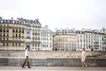 Набережная острова Сите в Париже