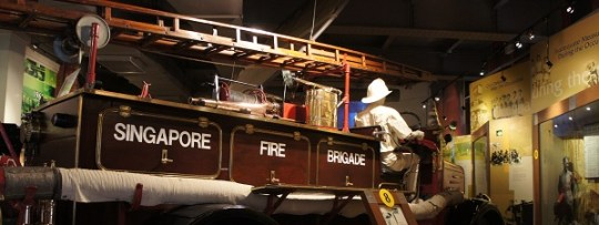 Camion de pompier Singapour