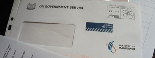 La lettre tant attendue pour l'EPEC