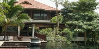 Clubhouse at Leisure Farm (Johor - Malaisie)