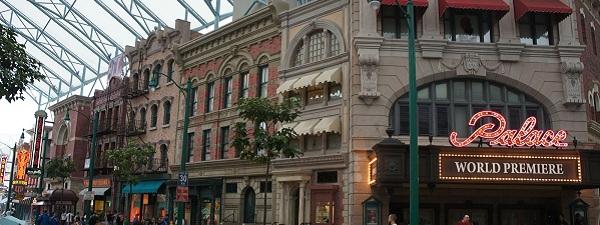 New-york façon Universal Studios Singapour