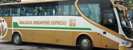 De Singapour à Malacca en bus