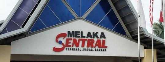 Melaka Sentral, le terminal de bus à Malacca