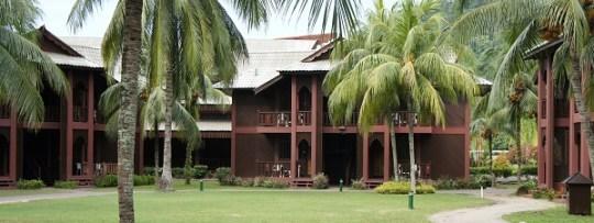 Bungalows à Berjaya Resort à Tioman Island (Malaisie)
