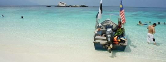 Plage à Tioman Island (Malaisie)