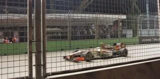Grand prix de F1 de Singapour - Sur le circuit