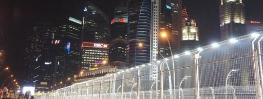 Grand prix de F1 de Singapour - Un circuit dans la ville