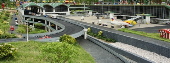Aéroport de Kuala Lumpur en Lego