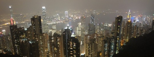 Hong-Kong la nuit