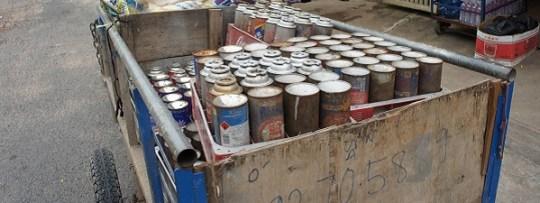 Recyclage à Phnom Penh