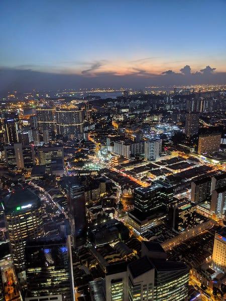 Gratte-ciel Singapour