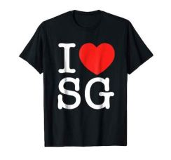 Tshirt I love SG