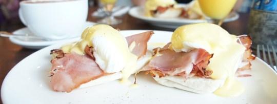 Egg Benedict à Choupinette (Singapour)