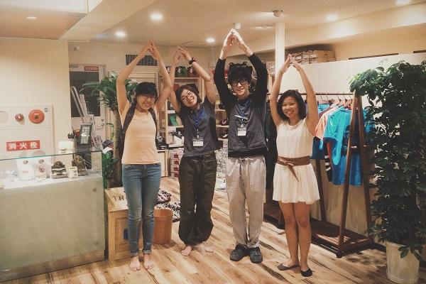 Avec le staff d'Adsummum à Kyoto