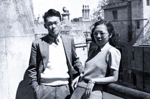 Lee Kuan Yew et son épouse Kwa Geok Choo