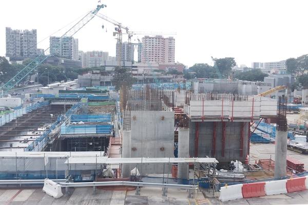 Construction a singapour