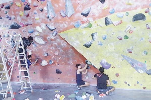 Ground Up Climbing Academy Salle Escalade