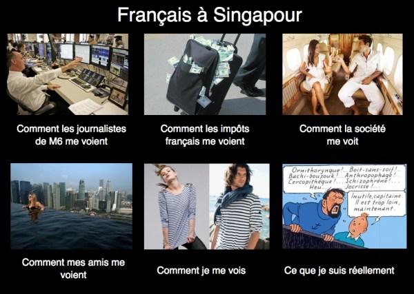 Les Français à Singapour